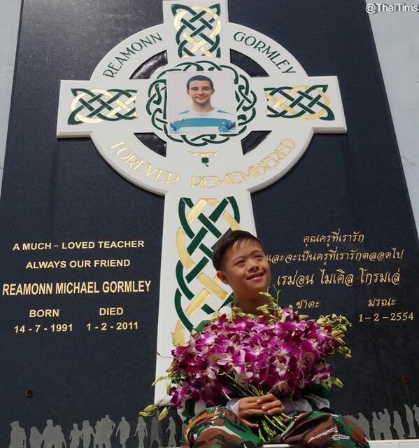 It's three years since Reamonn left us. You'll Never Walk Alone. http://t.co/mnoTwqOA2v