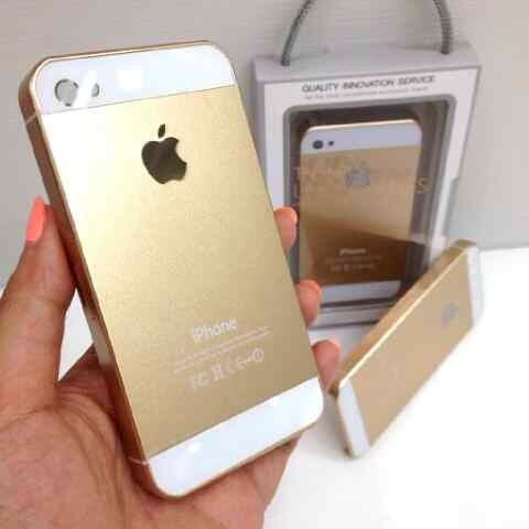 @issotastore 073219 Hardcase White Gold Chrome iPhone 5 Like iPhone 5s  #iphone #iPhone5s #reseller #gold #grosir http://t.co/LxLKdP5TqF