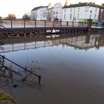1Feb 2014: high spring tide in Bridgwater, River Parrett #SomersetFloods one year on http://t.co/EnC9gPFHp6