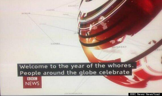 """BBC subtitles mistake yesterday supposed to read """"Chinese New Year - Year of the Horse"""" http://t.co/wZtm5dQlUN"""