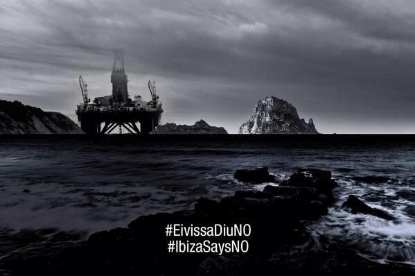 Thanx 4 support Seen too many oil catastrophes in arctic & amazon To ignore this at home #EivissaDiuNo #IbizaSaysNo http://t.co/eG6DsHHjM6