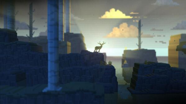 #screenshotsaturday The Deer God #indiegames #gamedev @piwotgames http://t.co/GnerIrzkyr
