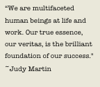 Love this RT @bizshrink: Our friend @JudyMartin8 will never leave us #JudyMartin http://t.co/a788vf2K5R