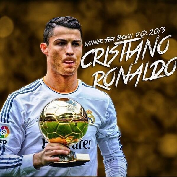 Un RT por el ganador del Balón de Oro, ¡Cristiano Ronaldo! http://t.co/ijWaRPz8UR