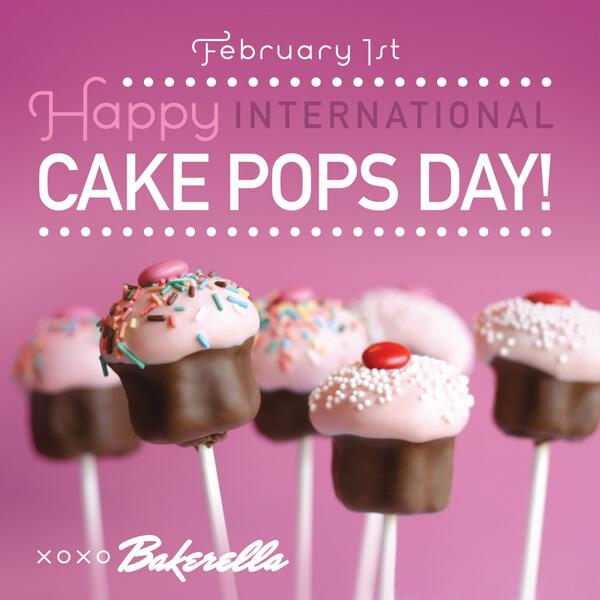 YAY! It's National #CakePops Day! http://t.co/HUCTluIZfl http://t.co/jHNh3vlAbd Thanks @Foodimentary http://t.co/8CQY8UmxlG