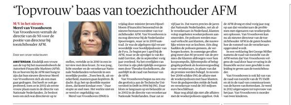 Bizar! En Fyra in pakket gehad RT @renelukassen: Woekerpolisverkoopster wordt de baas bij AFM. (...) #lekkerisdat http://t.co/U8sbwxv0lf