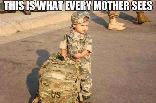 To all mothers who have the strength & courage to watch their babies serve & protect our country, Thank You. http://t.co/lY5jRO8DmF