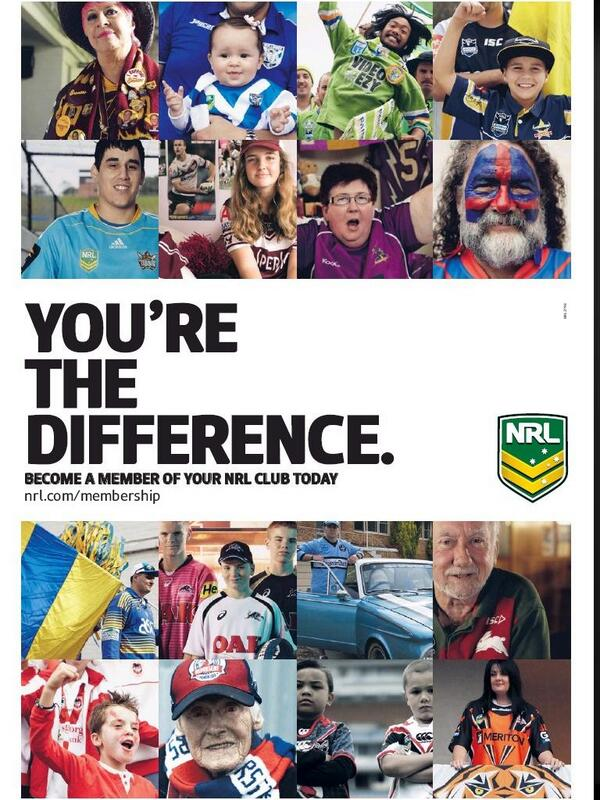 .@nrl marketing campaign in today's Sunday newspapers http://t.co/ErpMTyB5uz