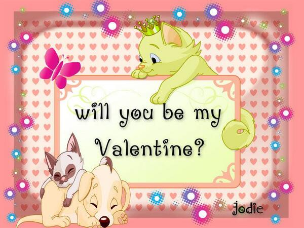 """""""Will You Be My Valentine?"""" by Jodie  piZap #photo #collage on #Android -► http://t.co/28xj2I8GNH http://t.co/wD3SOWCOks"""