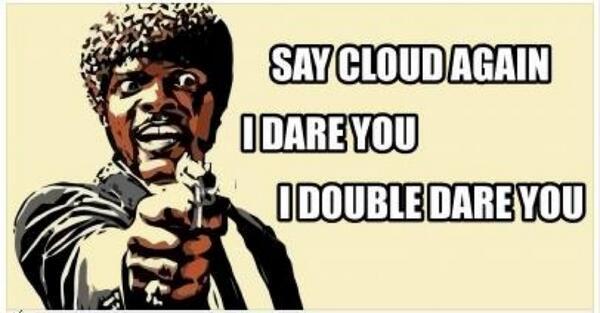 """Say Cloud Again"" #PEX2Word #VMwarePEX /cc @davehill99 @MikeRoySoft http://t.co/uPUyKpLFA5"