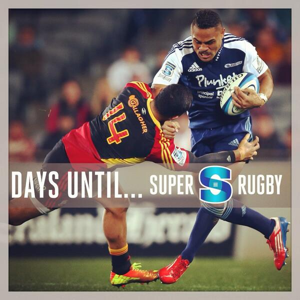 Francis Saili says #GetOutOfMyWay! Two weeks until #SuperRugby... http://t.co/OmAcU5bcDo