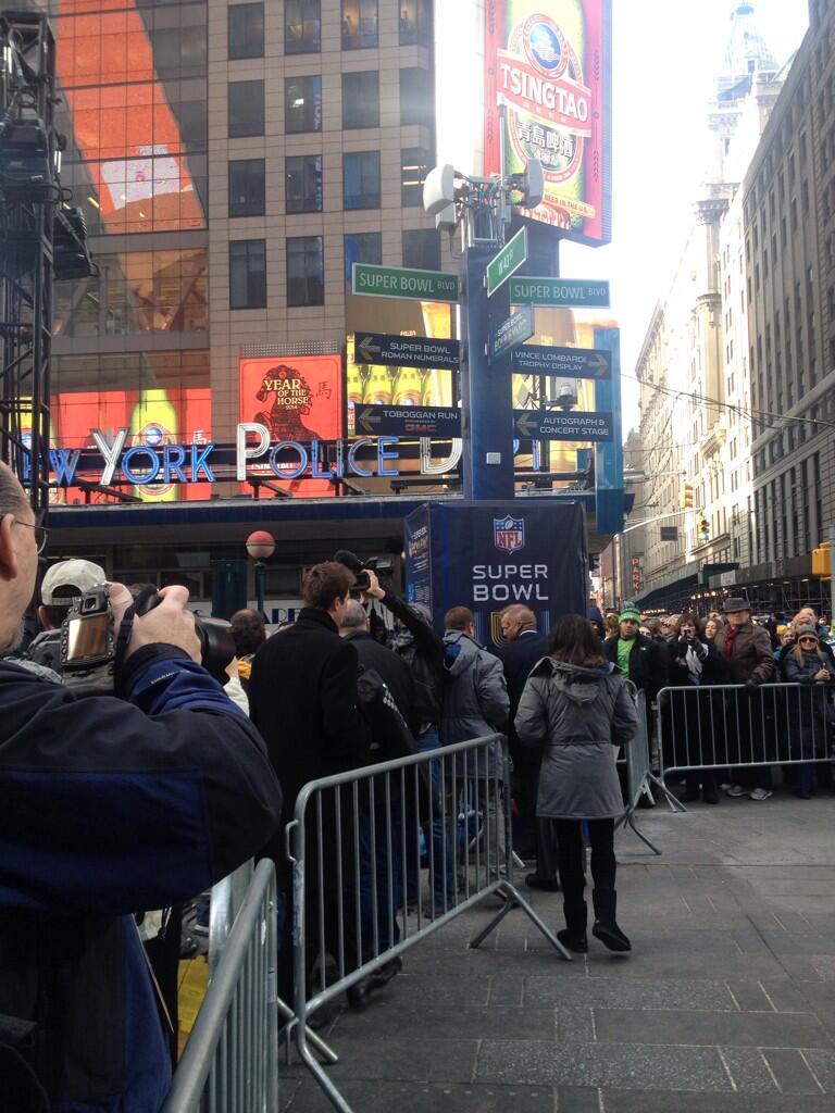 #NFL Commis Roger Goodell Arriving http://t.co/EwjMvJZwG6