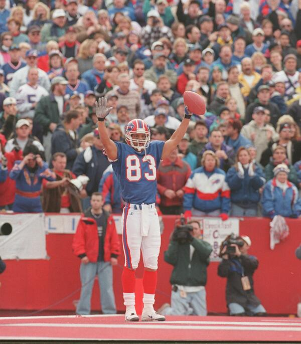 He made it! Buffalo Bills' all-time greatest receiver, Andre Reed, has been elected to Pro Football Hall of Fame. http://t.co/LJmzWhTbda