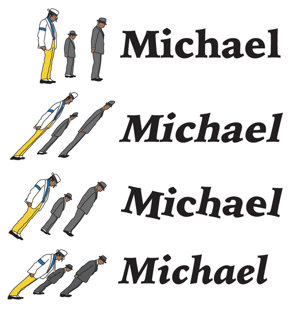 I love @Tosche_E's visual analogy with the Michael Jackson lean to explain different italics. http://t.co/txCXuz4VVL http://t.co/7McLPn2cCo