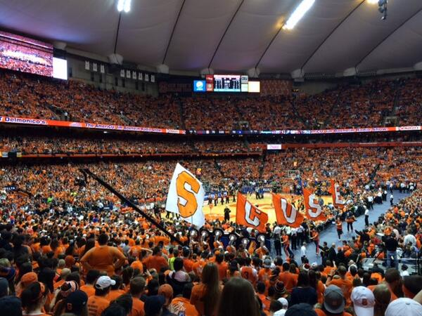 .@Cuse men's basketball's 91-89 victory over Duke is the best start in program history, 21-0! Proud to be Orange! http://t.co/Hrb1rtRGQR
