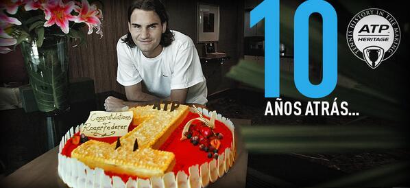 MT @ATPWorldTour_ES: Hace 10 años que @RogerFederer llegó por primera vez al No.1 http://t.co/4Ntkq8k8be #ATP http://t.co/zDIIJoH2rK #Tenis
