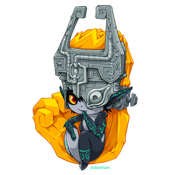 The extremely talented artist @dlanham drew a beautiful Midna for my #ZeldaCharacterCollab! http://t.co/Zl1hyiX5TQ
