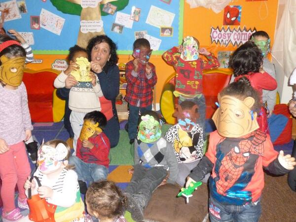 Chestnut Nursery Children Celebrated Chinese New Year With Their Animal Masks Http T Co Jjswvapxaa Read More