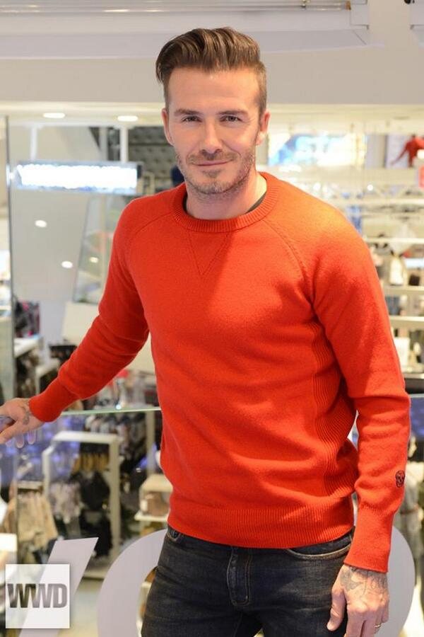 DAVID BECKHAM: On Saturday morning, at H&M on Broadway http://t.co/Xikrn4ckyG [Photo by Steve Eichner] http://t.co/tjI99XbVVM