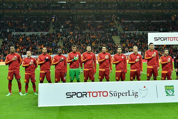 Galatasaray SK (@GalatasaraySK): METİN GİBİ! http://t.co/nuw9QYA5q8