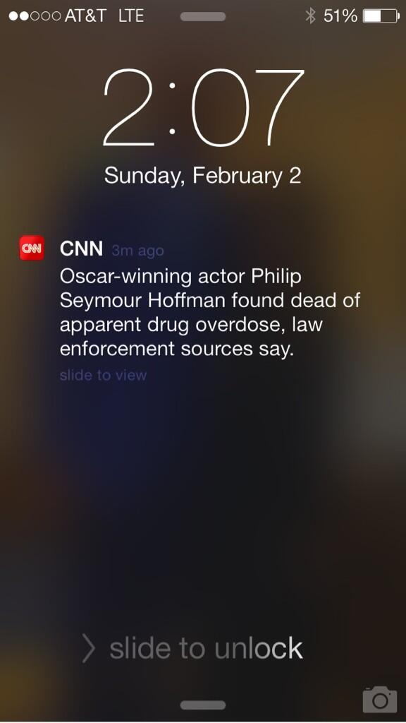 People are hurting. #RIPPhillipSeymourHoffman http://t.co/td6OA6LINn