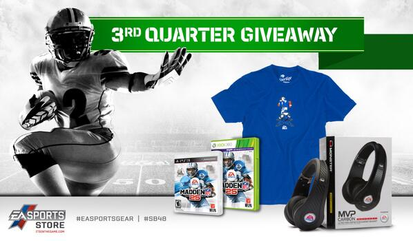 Want to replay #SB48 yourself? RT/Favorite for a chance to win this #Madden25 prize pack! http://t.co/DxY83JdJHv