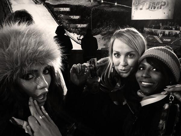 It's all about the bell! #TheJump @sinittaofficial @MissAmyChilds http://t.co/jyzt06ZEaf