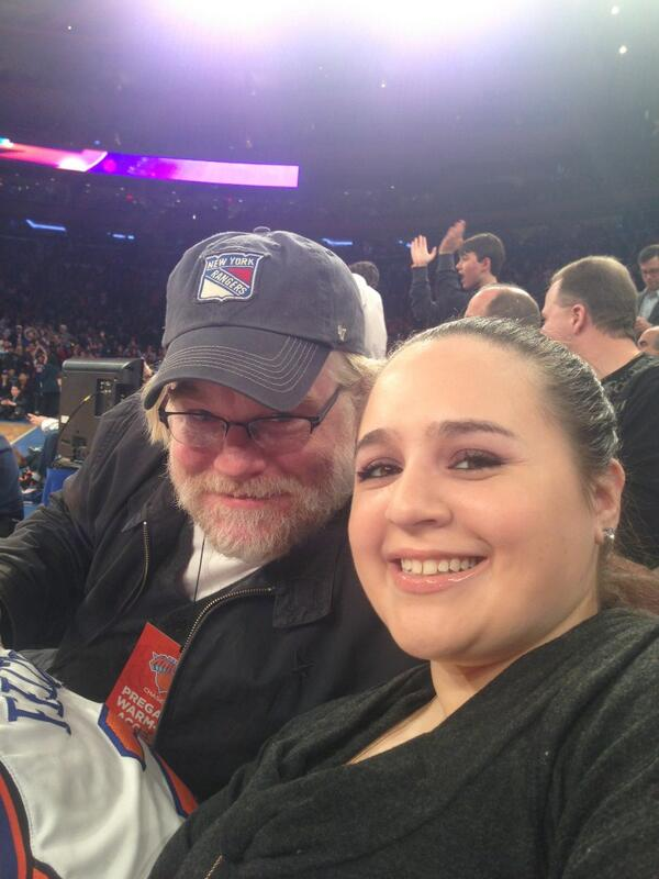 My heart is Broken! RIP! I will never forget our time having fun & loving watching the Knicks play court side luv u! http://t.co/g2PXSJb12r