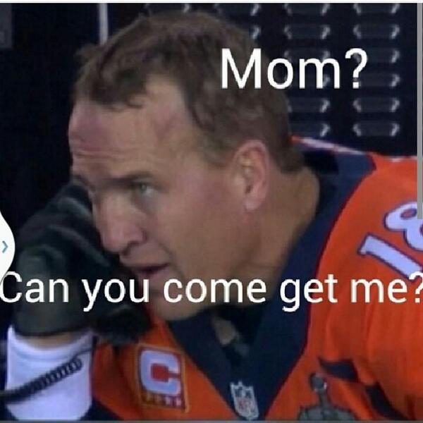 I'd want my mom at this point too!    #GoHawks #Seahawks #SEAHAWKSNATION #12thman #SuperBowl #SuperBowlXLVIII http://t.co/LgXbdabuVg