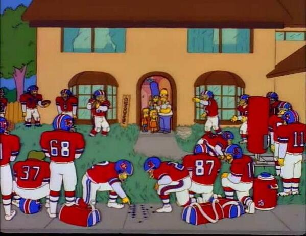 I think owning the Denver Broncos is pretty good! / You just don't understand football, Marge. #SB48 http://t.co/9ihLhLSHkH