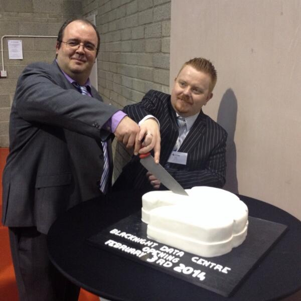 The cutting of the cake. @mneylon @shortword @blacknight http://t.co/QecT3nDpm4