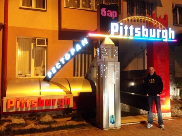 There is a Pittsburgh bar in Sochi, Russia. I found it and went to it: @412jasmine @Shop412 @lokay @WTAE @TribLIVE http://t.co/Vqrr5PHGZG