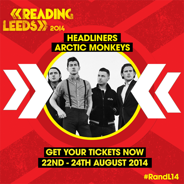 Headlining @OfficialRandL will be @ArcticMonkeys !!! #RandL14 http://t.co/gDxbmm6Krt