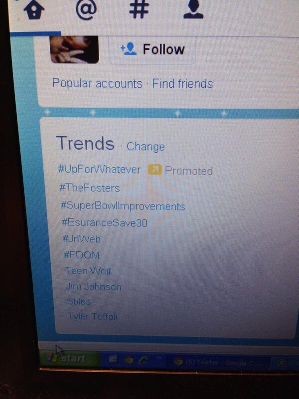 Hah, wow! Is this true?? Way to go, procrastinators RT @meagan__stokes #FDOM trending worldwide! http://t.co/LR840j92OE