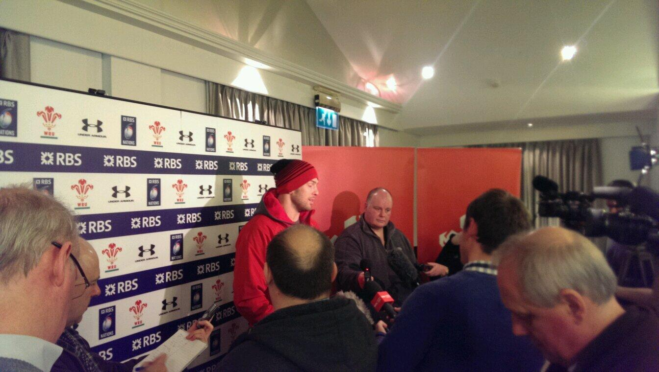 """""""It's not Syria,"""" Alun Wyn Jones says in response to questions about Irish hostility. #scrumv http://t.co/Ziw4else0g"""