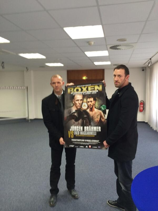 @theRealEnzoMac v braemer for WBA light heavy title 5 April @boxnationtv http://t.co/OJ6cyCsBoH
