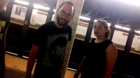 This is a pretty normal interaction when wearing @googleglass in public: #throughglass #cyborgface http://t.co/w1XpwlTD08