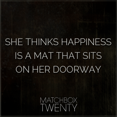 The clock on the wall has been stuck at three for days, and days #MatchboxTwenty http://t.co/sIrc85zRnM