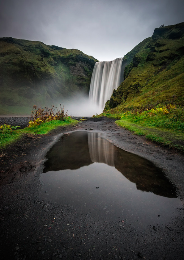 SKÓGAFOSS, ICELAND http://t.co/znH3EEWICh