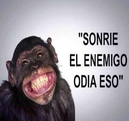 Sonríe! El enemigo odia eso! http://t.co/ysN9tj9zvx