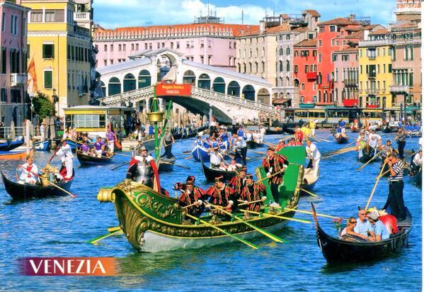 RT @VickiArkoff: Greetings from Venice, Italy. #wishiwasthere #postcard @HolidayGoddess @Alitalia @WalksofItaly http://t.co/2Q5EqKkJRb