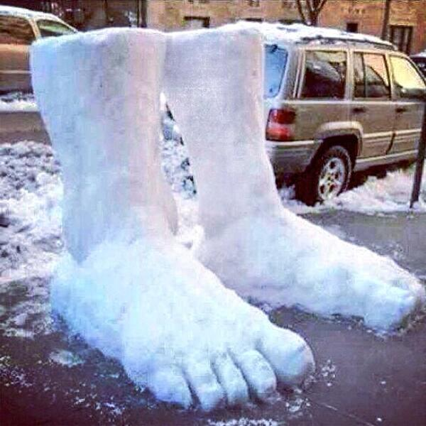 What we all need: a stellar sense of humor to get thru! RT @GinoJRocco: OMG Two Feet of Snow !! #Chiberia #ChiSnow http://t.co/TNcre90gyq