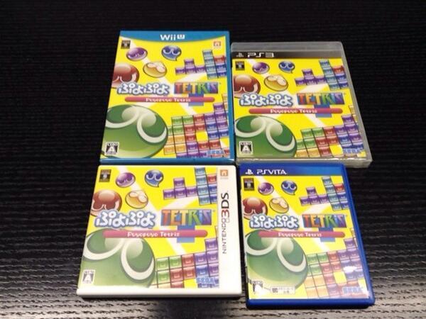 明日2/6(木)『ぷよぷよテトリス』発売ぷよ! 4機種同時に遊ぶぷよ! http://t.co/CDCuOhD0nx
