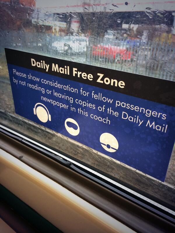 Brilliant. On my @ArrivaTW train home from @GlyndwrUni Wrexham. http://t.co/jkUy6psgUg