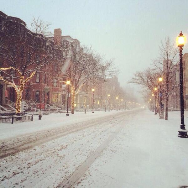 Snow Day on Newbury Street (pic @LawkwardLady) #BOSnow http://t.co/mokKRRsxkA