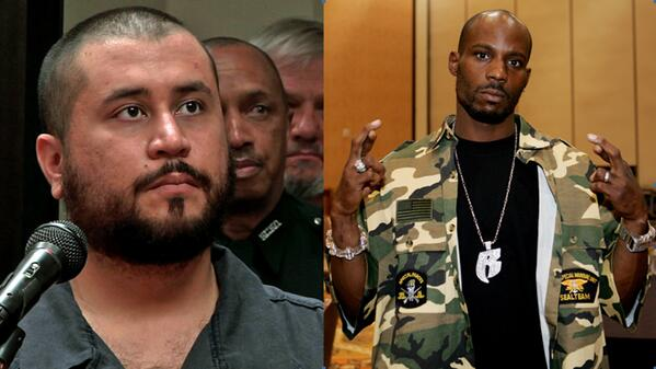George Zimmerman and rapper DMX will fight against each other in a celebrity boxing match http://t.co/oaJk8xeGhd http://t.co/9vDqOuBGgS