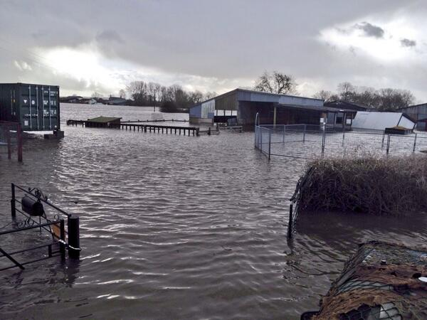 Feel so sad 4 trainer Carroll Gray & others affected by floods. This was the yard today only accessible by army truck http://t.co/bx1PKbMMNS