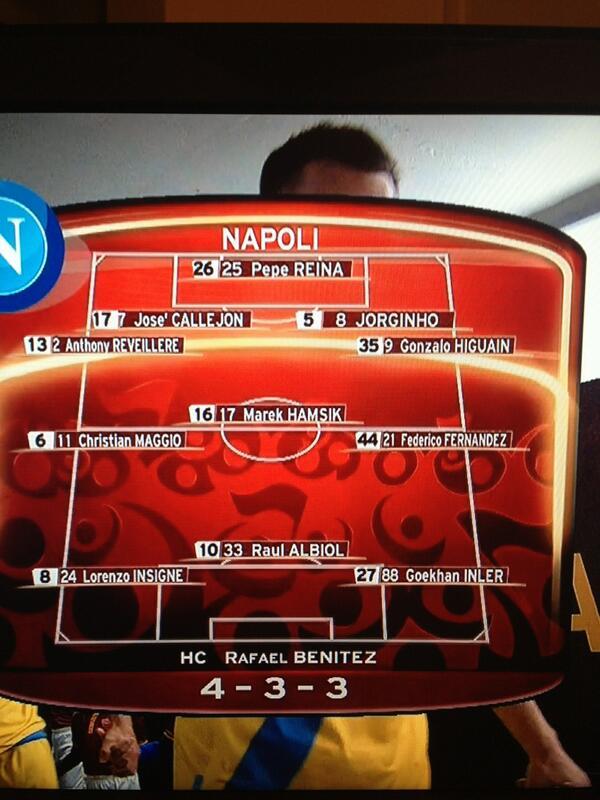 Insane tactics from Benitez again http://t.co/jGvu5RxDYf