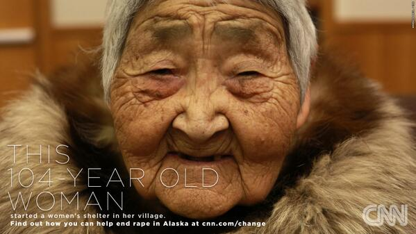 This 104yo woman started a shelter in her village. Do your part to help Alaska #changethelist: http://t.co/gBv5JIVsjj http://t.co/aKEhP2RBD6
