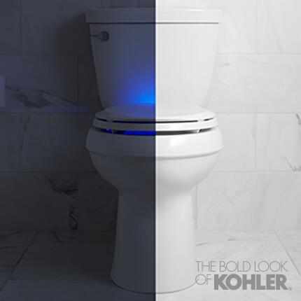 Don't be afraid of the dark! Introducing our Nightlight Toilet Seat. http://t.co/XY7Tm3oecy #KBIS2014 #OnlyKohler http://t.co/FxnkWCq63x